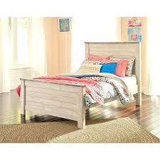 Full Size White Canopy Bed White Full Size Bed Frame Classic Rustic ...