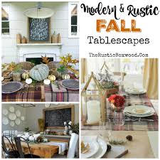 Fall Table Scapes Rustic Fall Tablescapes Part 5 Of The Phenomenal Fall Favorites