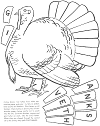 Small Picture Free Turkey Cut Outs Coloring Coloring Pages