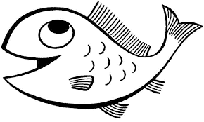 Fish images to color