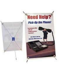 Tabletop Banner Stand Display