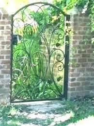 wrought iron garden gates metal mesmerizing edinburgh gate wrought iron garden gates