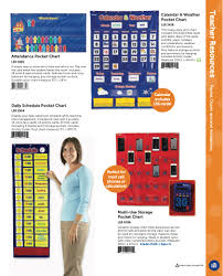 Calendar And Weather Pocket Chart 2019 Catalog No Price 2