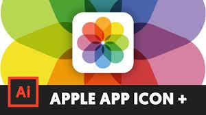 Apple App Icon Design How To Make Apple App Icons In Illustrator Cc Apple Photos T057