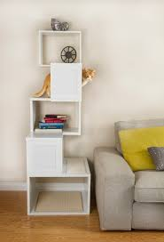 modern contemporary cat tree shelves  all contemporary design