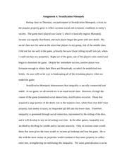 stratification monopoly essay assignment stratification  stratification monopoly essay assignment 4 stratification monopoly during class on thursday we participated in stratification monopoly a twist on the
