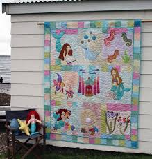 Mermaid Quilt Pattern