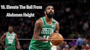 how to Kyrie Irving shooting form with 33 tips 15 Elevate The Ball From  Abdomen Height – Shotur Basketball Jump Shot Tips