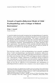 psychology paper format co psychology paper format