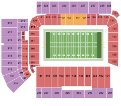 Spectrum Stadium Seating Chart Ucf Ucf Knights Football Tickets 2019 Browse Purchase With
