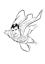 Small Picture Free Printable Superman Coloring Pages For Kids