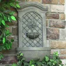 wall mounted fountains outdoor 38 best solar outdoor water fountain images on outdoor