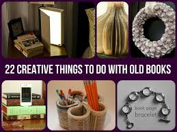 22 creative things to do with old books diy uses for old books