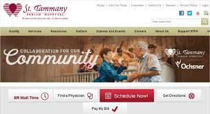 Access Stph Org Home St Tammany Parish Hospital