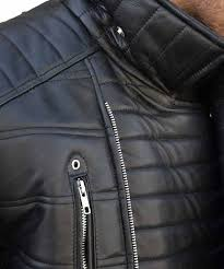 trevor viking calcote cold pursuit tom bateman leather jacket