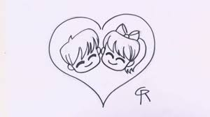 Free Cartoon Love Couple To Draw Download Free Clip Art Free Clip