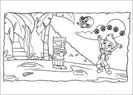 Disegni Da Colorare Gratis Per Bambino Jake E I Pirati Dellisola