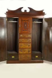 Vintage antique furniture wardrobe walnut armoire Armoire Yhome Full Size Of Jewelry Armoire Mirror Stunning Honey Wood Mele Burled Walnut Solid Hives Dark Morgan Thomiteinfo Marvellous Walnut Armoire Wardrobe Burled Solid Mirror Morgan