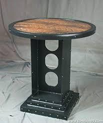 Amazon Com Vintage Industrial Bistro Table Industrial