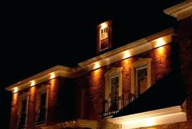 soffit led lighting. Awesome Outdoor Under Eave Led Lighting And Example Of A Trendy Wood Exterior Soffit F