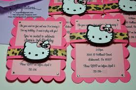 hello kitty jingvitations hello kitty leopard cheetah print 4