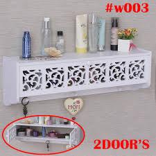 drawer wood storage shelf