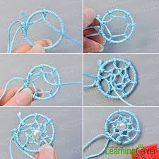 Dream Catchers How To Make Them Adorable How To Make Simple Friendship Bracelet Decorated With Dream Catcher