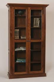 Shelves glass doors