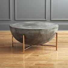 concrete top coffee table uk design ideas