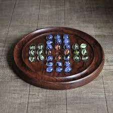 Wooden Board Game With Marbles Store Indya Wooden Chinese Checkers With Marbles Board Game For 87