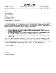 Sample Cover Letter For Healthcare Administration Yun56co Cover In
