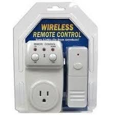 Wireless Appliance Remote Control Lamp Light Switch  L