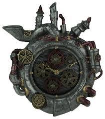 magnum opus steampunk style wall clock