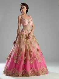 1595 best reception outfits wedding reception lehenga images on Wedding Dress Rental Online India lovely pink and gold indian bridal look! Wedding Dresses for Rent