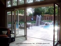 accordion glass doors with screen. enjoyable folding glass door solar innovations, inc. introduces wall and accordion doors with screen k