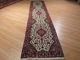 details about 14 feet runner persian sarouk vegetable dye handmade knotted wool rug 581242