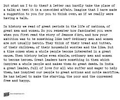 nehru s letter to daughter indira from prison is the best advice a in 1973 indira gandhi wrote ldquothese letters aroused a feeling of concern for people and interest in the world around they taught one to treat nature as a