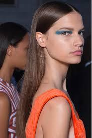 victoria beckham nyfw 2017 s s trendy runway makeup looks to love