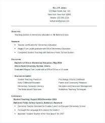 Arabic Teacher Resume Sample