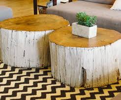 ... Large-size of The Tree Stump End Table Ideas End Table Coffee Tables  Made From ...