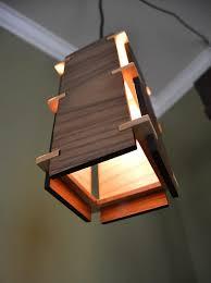 square wooden pendant light wood lamps pendant lighting