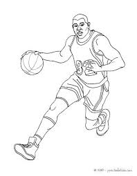 Basketball Players Coloring Pages Basketball Coloring Page Girl