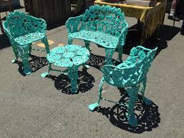 Quirky Outdoor Furniture Original Powder Coated Frame With Powder Coated Outdoor Furniture