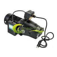water ace shallow well pump motor 1 2 hp 115 230 volt shallow well jet pump w pressure switch 1 hp 15gpm heavy duty 115