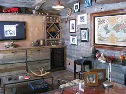 Ultimate Man Cave Rustic Ideas Bbddcdeb