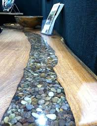 resin table top rock and resin river table by tree stump resin restaurant table tops for