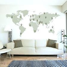 map decoration ideas innovation ideas world map wall decor plus set of 3 transitional vinyl decal map decoration ideas