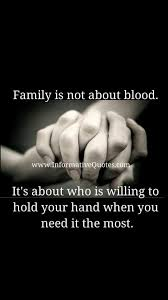 Quotes About Loyalty And Friendship Impressive Family Is Not About Blood 48millionmiler Quote Friendship