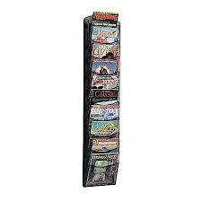 magazine rack office. Safco 10 Pocket Mesh Magazine Rack Office Z