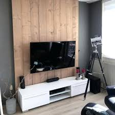 tv wall design simple grey painted and wood wall ideas simple living room tv wall design
